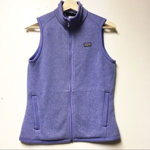 Patagonia Purple Better Sweater Vest Size S